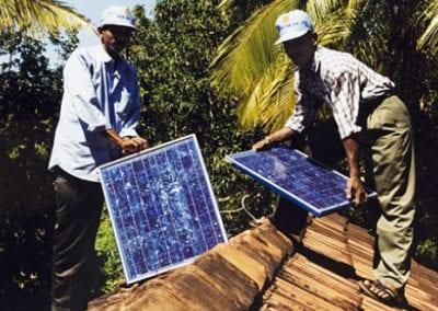 Solar Power for Training Facility